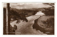 River Spey - Aberlour Real Photo Postcard 1949
