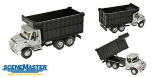 Walthers HO Scale International 7600 Dual-Axle Coal Truck Silver Cab, Black Box