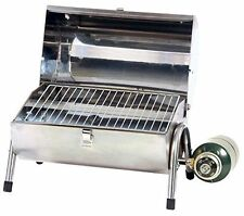 Powerful Stainless Steel Tabletop Portable Camping Picnic Gas Grill BBQ Propane