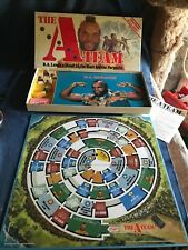 1980s A-Team Board game Complete w/ Instruction Nice Shape Mr. T Parker Brothers