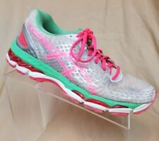 Women's Asics Gel Nimbus 17 Training Running Shoes Coral Apple US Size 9.5