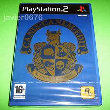 Canis Canem Edit Bullworth Academy de Take 2 para la Sony PS2 usado completo
