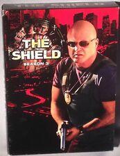 DVD THE SHIELD Season 3 (4 DISC BOX SET) MINT