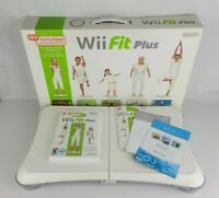 Nintendo Wii Fit Plus Balance Board Used Once Yoga Aerobics Strength Training