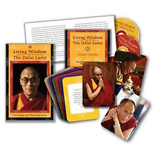 Living Wisdom with His Holiness, the Dalai Lama DVD & CD COM. SHIPPING AVAILABLE
