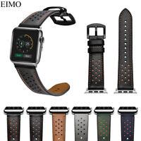Leather Strap For Apple Watch Band 40/44mm Bracelet Wrist Belt Watchband
