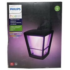 Philips Hue Econic Outdoor Wall Lantern (Downwards) - White & Colour Ambiance