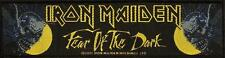 IRON MAIDEN SUPERSTRIP PATCH # 7 FEAR OF THE DARK - 19x5cm