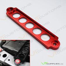 Plain Red Honda Civic Type R Battery Tie Down Bracket JDM For EP Models EP3