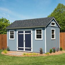 Berkdale 14' x 8' Wood Shed 918 Cubic Feet, Floor Kit Included