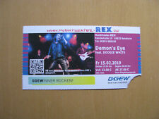 Demon`s Eye feat. Doogie White Purple & Rainbow-Tour Ticket Bensheim 15.02.2019