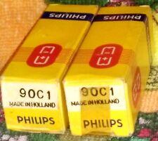 NOS Philips 90C1 vacuum tube radio TV valve, TESTED