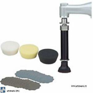 Proxxon Set professionale per rimuovere macchie,lucidare per WP/E e WP/ A 29 070