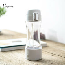 320ML Portable Hydrogen Rich Water Maker Ionizer Generator School Bottle Cup New