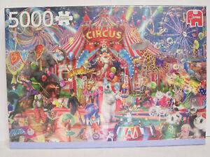 Jumbo 18871  Puzzle 5000 Teile Eine Nacht im Zirkus / A Night at the Circus