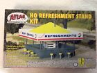 HO Scale Atlas Brand Refreshment Stand Kit New in box kit #715