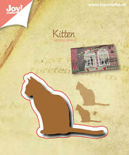 Joy Crafts Cutting Stencil Die SILHOUETTE CAT 6002/0522