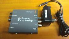 Blackmagic Design Mini Converter SDI to analog Mini Converter- Very Nice!