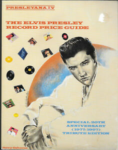Elvis Presley Record Price Guide by Jerry Osborne Softcover Book