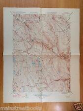 BECKETT, MA 1948 VINTAGE TOPOGRAPHICAL MAP Middlefield WASHINGTON Beckett, Mass