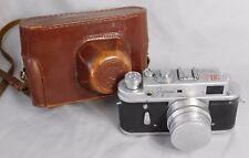 Vtg ZORKI ZOPKUU 4 35 mm USSR Jupiter 8 2 50mm Lens Camera Leica Copy
