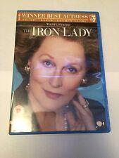 The Iron Lady (DVD, 2012) meryl streep, region 2 uk dvd