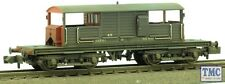 377-875 Graham Farish N Gauge 25T Queen Mary Brake Van SR Brown TMC Weathered