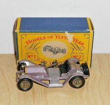 Matchbox MOY Y7-2.1(R) 1913 MERCER RACEABOUT TYPE 35J (IN CORRECT BOX)
