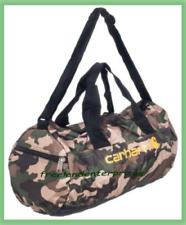 Hunting Carhartt Army Camo Packable Duffel 19x9x9 inches ~New~