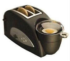 New listing Back To Basics Egg & Muffin 2 Slice Black Toaster New In Box Electric