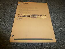 Caterpillar Cat Challenger 85D Agricultural Tractor Owner Operator Manual Book