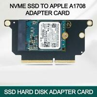 New M Key M.2 NVME SSD to A1708  Adapter Card Air Pro T5C2