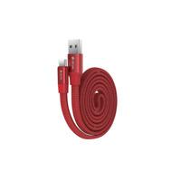 USB C Typ C zu USB Kabel Schnell Ladekabel Datenkabel Cable für Handy Tablet Rot