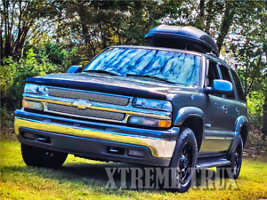 Paintable Black 00-06 Tahoe OE Fender Flares Bolt On No Drill Set 4