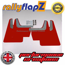 rallyflapZ SUBARU IMPREZA Classic Saloon/Wagon (93-01) Schmutzfänger Rot 4mm PVC