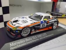 MERCEDES BENZ SLS AMG GT3 24h Nürburgring 2012 Hankook Heico Schneider #65 1:43