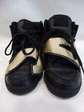 Adidas Originals ObyO Jeremy Scott Letters Gold Foil M18991 Black KIDS Shoes