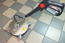 "Pressure Washer Stainless Rotary Surface Patio Cleaner 17"" KARCHER ; KRANZLE"