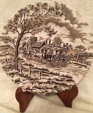 "Original Royal Mail Bread Plate 6 1/4"" Fine Staffordshire Ironstone"