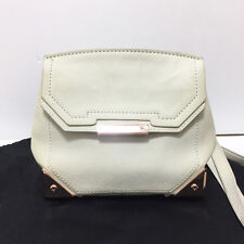 [Alexander Wang] Mini Marion Cross Body Bag White & Rose Gold / Pre-owned A+