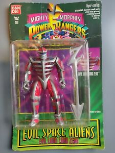 Bandai Mighty Morphin Power Rangers Evil Space Aliens Evil Light Lord Zedo 1994