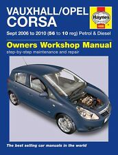 Haynes Owners Workshop Manual Holden Barina Petrol Diesel (06-10) SERVICE REPAIR