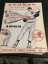 Official 1963 New York Yankee Yearbook.