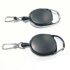 Retractable EDC Burglar Keychain Tactical Key Chain Telescopic Wire Rope Outdoor