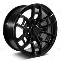 "17"" Pro Style 2020 Satin Black Wheels Fits Toyota Tacoma 4Runner FJ Cruiser"