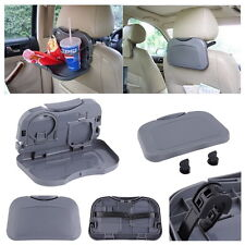 NEW Folding Auto Car Back Seat Table Drink Food Cup Tray Holder Stand Desk  FTSS
