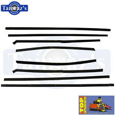 57-58 Ford Top Catwhiskers Window Felt Fuzzies WindowFelt Kit Convertible