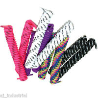 WAPROO Spiral Shoelaces- Black White Red Blue Fluro Curley Shoe lace