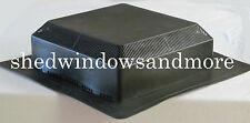 Weather Pro 50 Black Roof Vent Durafflo Shed Barns Plyhouses Storage Shed Coops