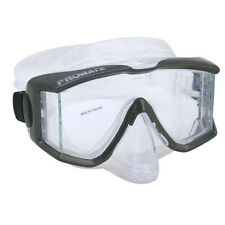NEW Promate MK398 Panoramic Silicone Purge Mask for Scuba Diving and Snorkeling